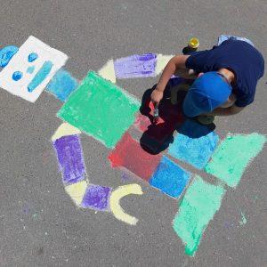 KREUL-Streety-Straßenmalfarbe-Roboter