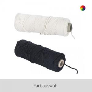 Baumwollgarn 70 m, ø 2 mm – Farbauswahl