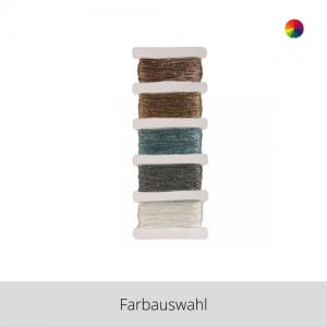 Baumwollgarn Stitch&Knot Metallic – Farbauswahl