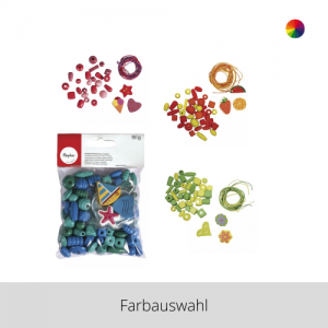 Holzperlenmischung Cocktail – Farbauswahl