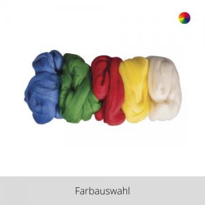 Reine Schurwolle Kammzug Set – Farbauswahl