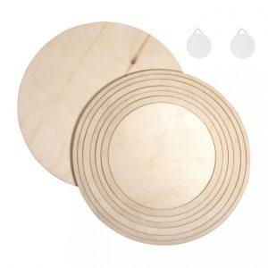Holzringe mit Platten Set klein