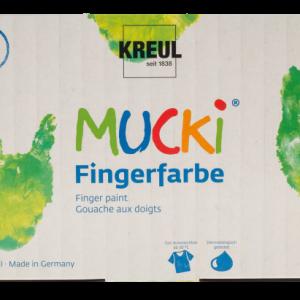 MUCKI Fingerfarben 6er Set