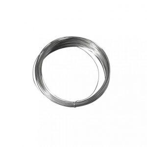 Silberdraht mit Kupferkern 0,8 mm