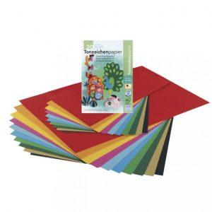 Tonpapierblock DIN A4