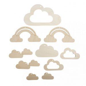 Anhänger für Mobile Wolke