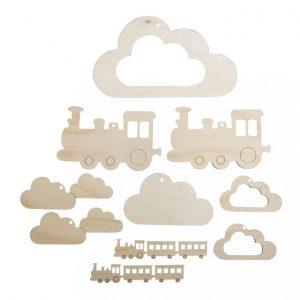 Anhänger für Mobile Zug