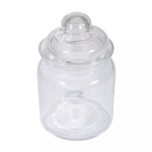 Glas Gefäß ø 8 cm
