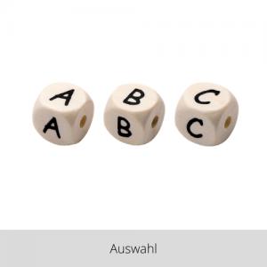 Holzperle Buchstabe – Auswahl