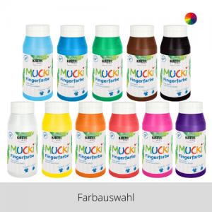 MUCKI Fingerfarben 750 ml – Farbauswahl