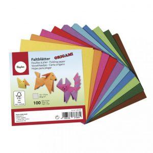 Origami Faltblätter – 10 x 10 cm – 100 Blatt