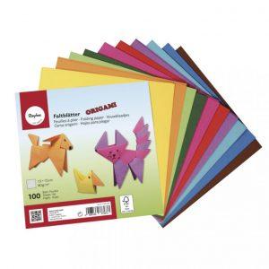 Origami Faltblätter – 15 x 15 cm – 100 Blatt