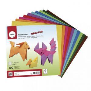 Origami Faltblätter – 20 x 20 cm – 100 Blatt