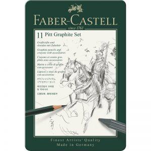Faber Castell Pitt Graphite Set – 11er