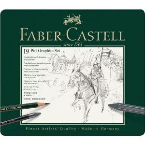Faber Castell Pitt Graphite Set – 19er