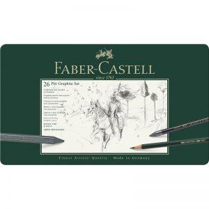 Faber Castell Pitt Graphite Set – 26er