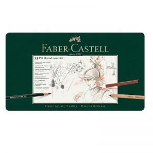 Faber Castell Pitt Monochrome Set – 33er