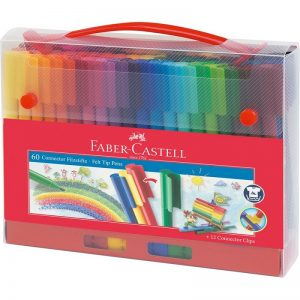 Faber Castell Connector Filzstifte – 60er Set