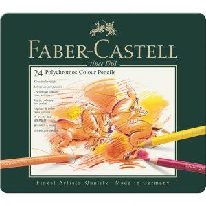 Faber Castell Polychromos Set – 24er