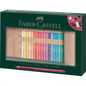 Faber Castell Polychromos Set – 30er inkl. Stifterolle