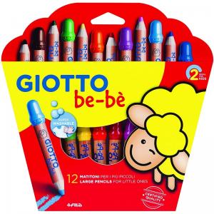GIOTTO be-bè Buntstifte – 12er Set