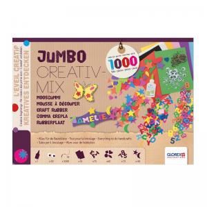 Jumbo CREATIVMIX Moosgummi 1.000 Teile
