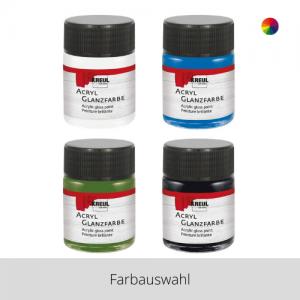 KREUL Acryl Glanzfarbe 50 ml – Farbauswahl
