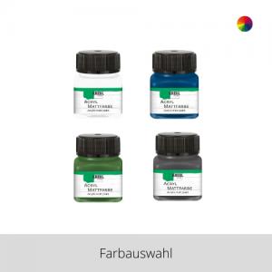 KREUL Acryl Mattfarbe 20 ml – Farbauswahl
