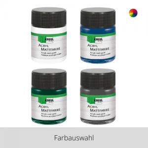 KREUL Acryl Mattfarbe 50 ml – Farbauswahl