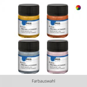 KREUL Acryl Metallicfarbe 50 ml – Farbauswahl