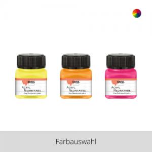 KREUL Acryl Neonfarbe 20 ml – Farbauswahl