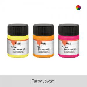 KREUL Acryl Neonfarbe 50 ml – Farbauswahl