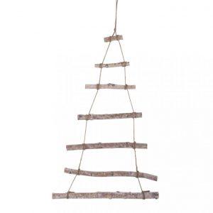 Holzleiter zum Hängen – Weihnachtsbaum