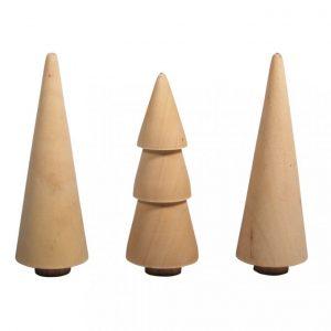 Holzbäume – Set