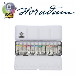 Schmincke HORADAM Aquarellkasten – 12 x 5 ml Tuben