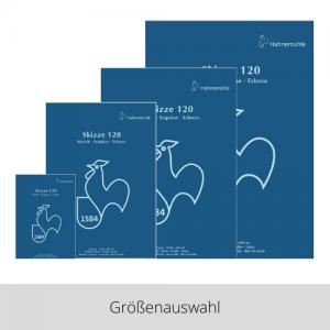 Hahnemühle Skizzenblock 120g – Größenauswahl