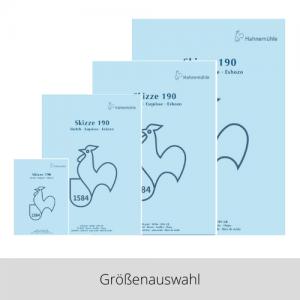 Hahnemühle Skizzenblock 190g – Größenauswahl