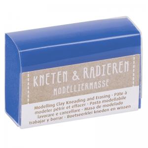 Kneten & Radieren Modelliermasse – Farbauswahl – blau