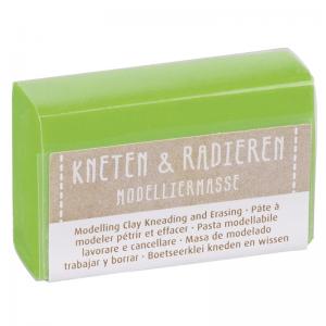 Kneten & Radieren Modelliermasse – Farbauswahl – hellgrün