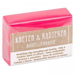 Kneten & Radieren Modelliermasse – Farbauswahl – neon pink