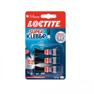 Loctite Superkleber original – 3 x 1g