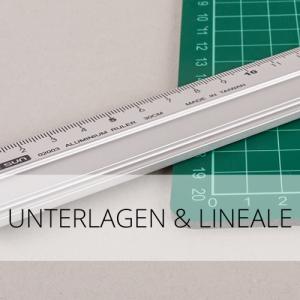 Unterlagen & Lineale