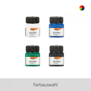 KREUL Javana Stoffmalfarbe für helle Stoffe 20 ml – Farbauswahl