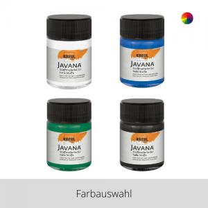 KREUL Javana Stoffmalfarbe für helle Stoffe 50 ml – Farbauswahl
