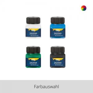 KREUL Javana Stoffmalfarbe für helle und dunkle Stoffe 20 ml – Farbauswahl