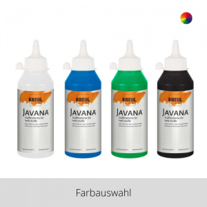 KREUL Javana Stoffmalfarbe für helle Stoffe 250 ml – Farbauswahl