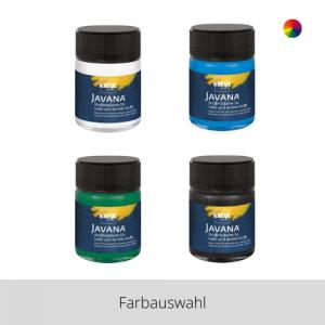 KREUL Javana Stoffmalfarbe für helle und dunkle Stoffe 50 ml – Farbauswahl