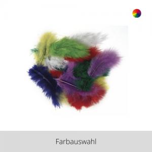 Deko Federn 8 cm – Farbauswahl
